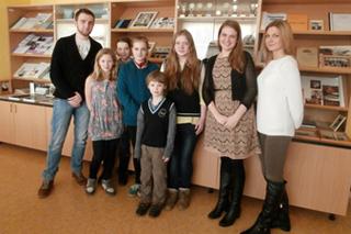Igauņu pamatskolas skolēni