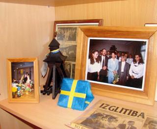 Zviedrijas stends